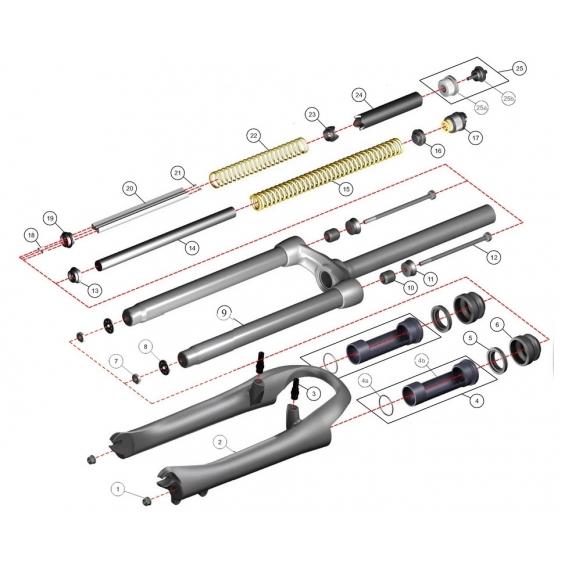 Разновидности передних вилок для велосипеда и их настройка