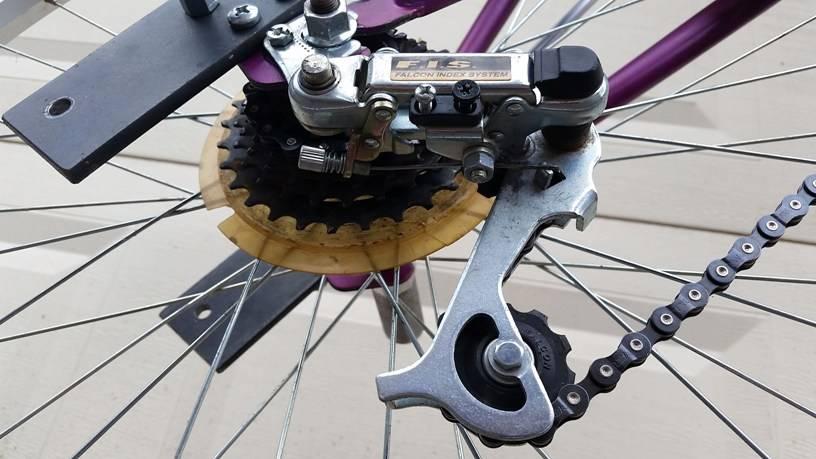 Как правильно снимать цепь с велосипеда