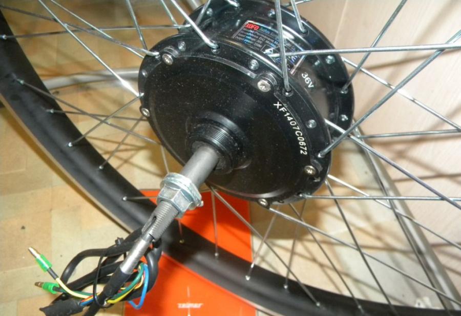 Как выбрать и установить мотор-колесо на велосипед