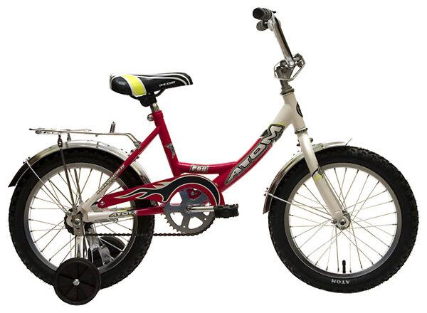 Российские велосипеды atom детские и взрослые: модели, технические характеристики