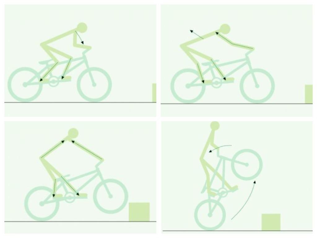 Как прыгать на горном велосипеде - пошаговое руководство