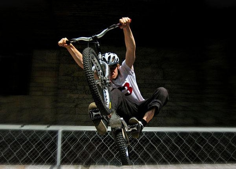 Триальный велосипед