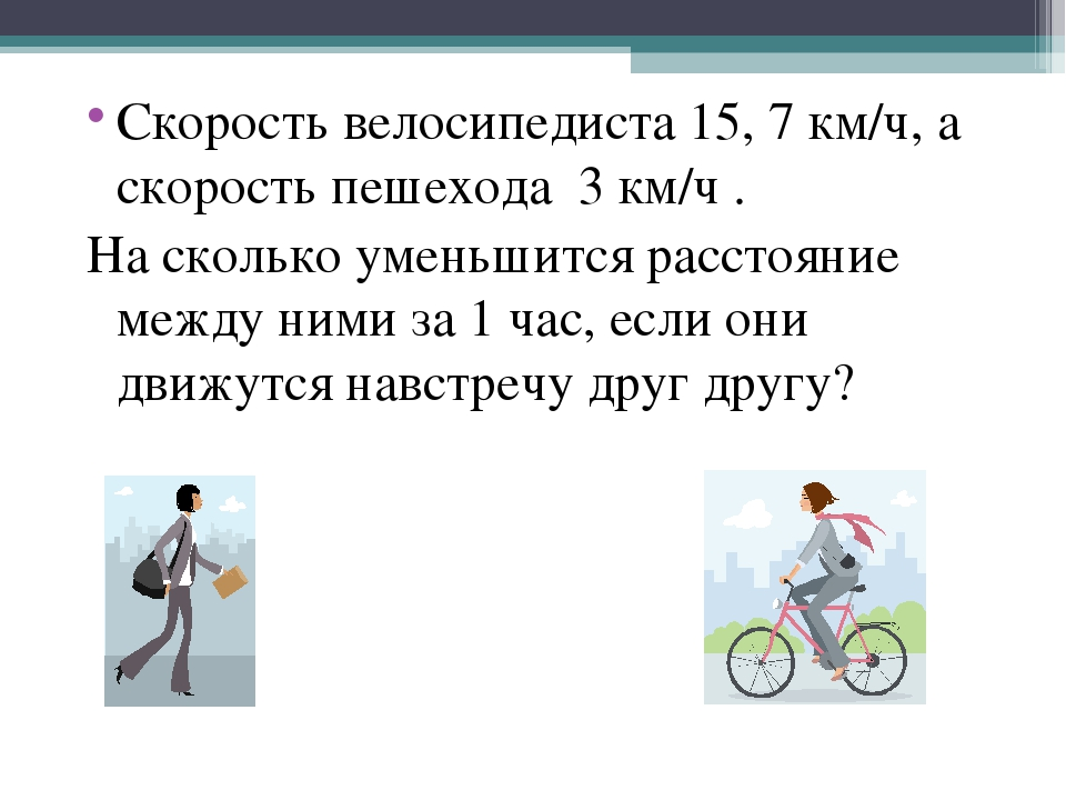 Средняя скорость велосипедиста в зависимости от различных факторов