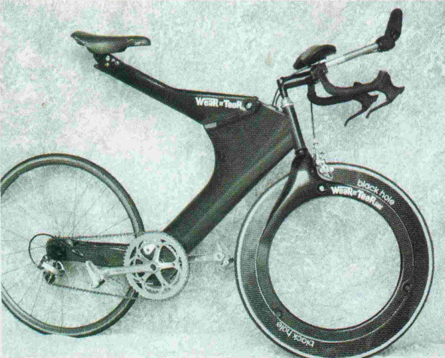 Как устроены велосипеды без спиц