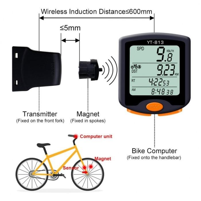 Велокомпьютер инструкция