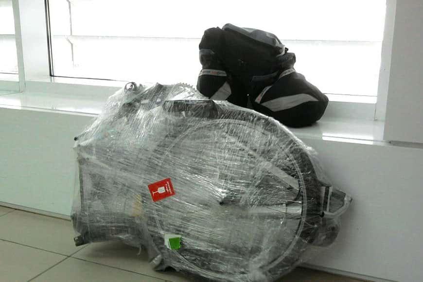 Как перевезти велосипед в самолете