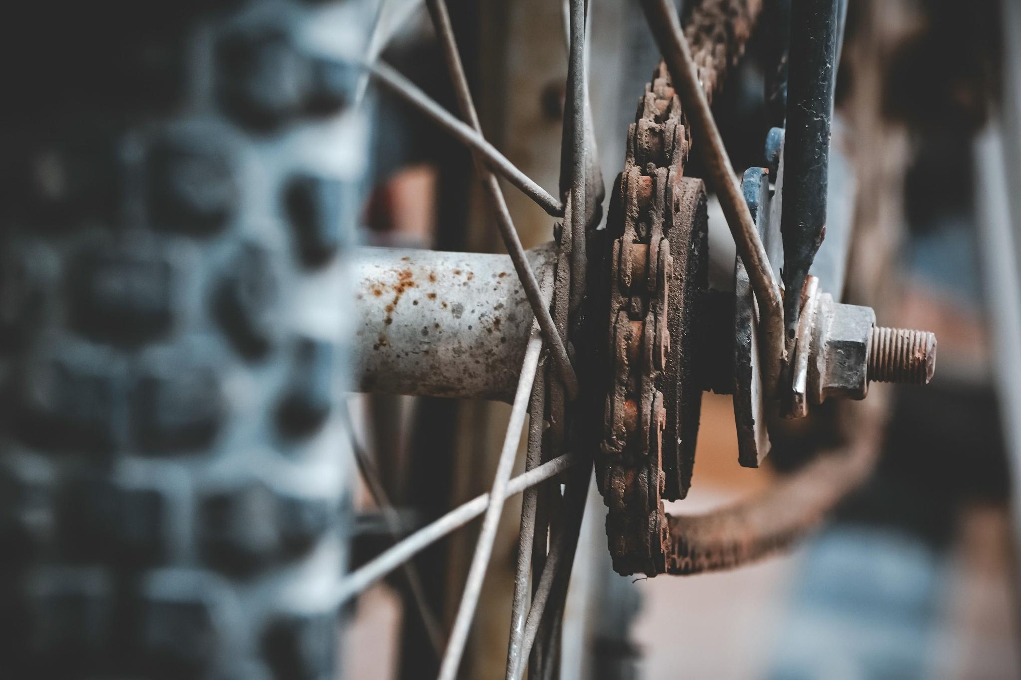 Ржавчина на велосипеде или как избежать коррозии металла