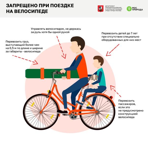 Учимся правильно сидеть на велосипеде