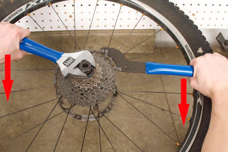 Как заменить звездочки кассеты велосипеда