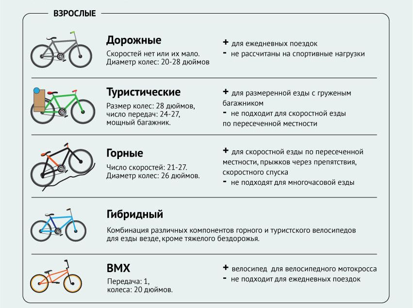 Как выбрать горный велосипед правильно для взрослого мужчины и женщины