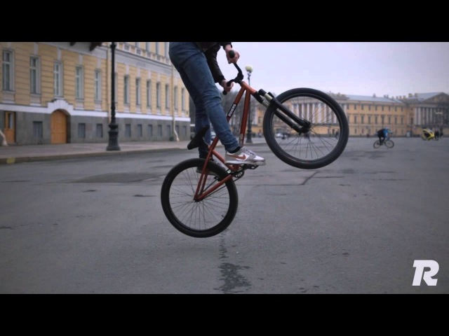 Как сделать на велосипеде трюк банни-хоп? (banny hop)