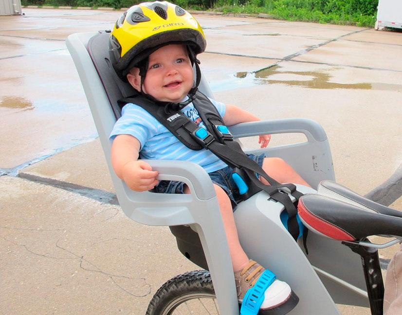 Детское сиденье на велосипед на раму: виды сидений, вопросы безопасности, особенности выбора