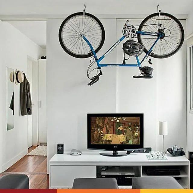 Как хранить велосипед в квартире: подготовка, лучшие способы, основные ошибки
