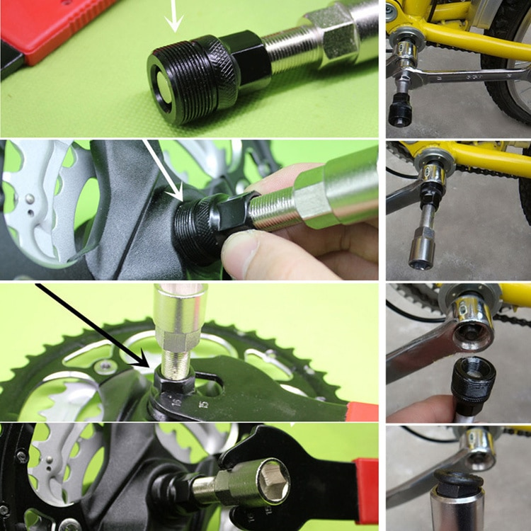 Как правильно снять каретку с велосипеда и поставить ее обратно