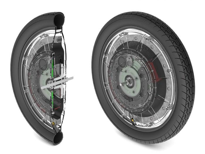 Колесо-мотор своими руками. как сделать мотор-колесо?