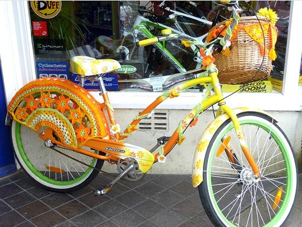 Как сделать декоративный велосипед своими руками для цветов avtopraim.ru