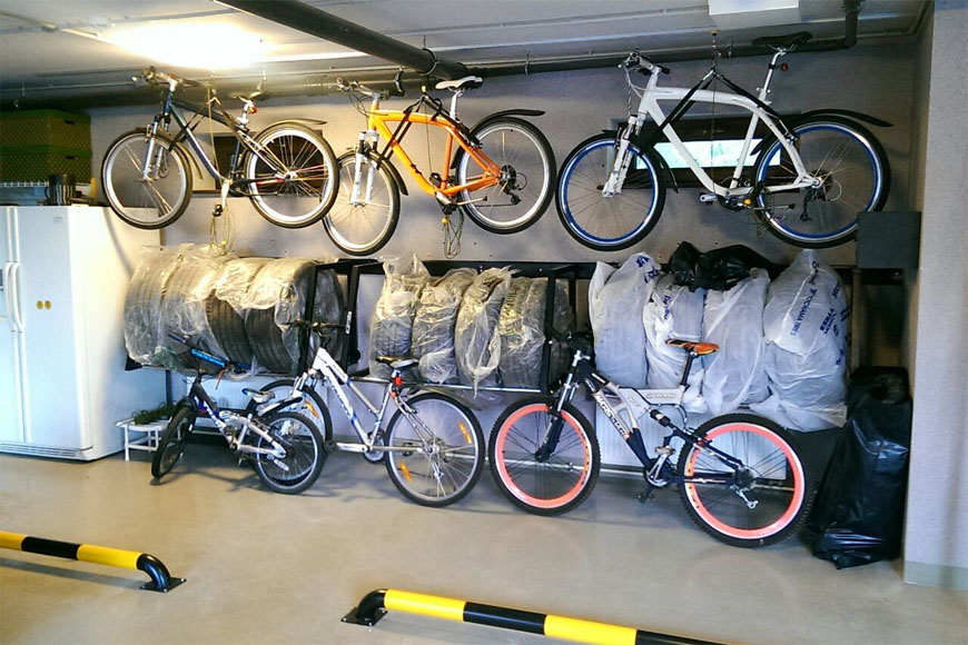 Что такое велогараж (гараж для хранения велосипеда)