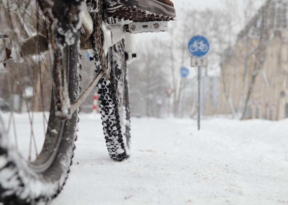 Про экипировку велосипедиста в холодную погоду