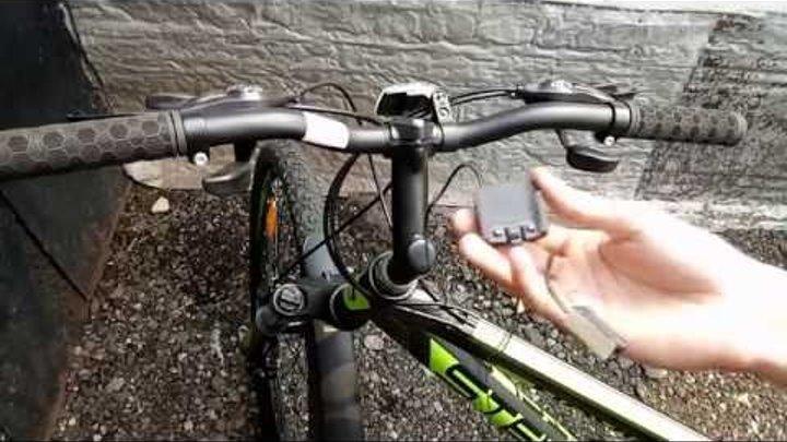 Установка велокомпьютера на велосипед + настройка [2019]