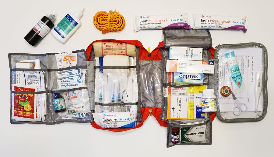 Tatonka first aid l - собираем большую аптечку в поход