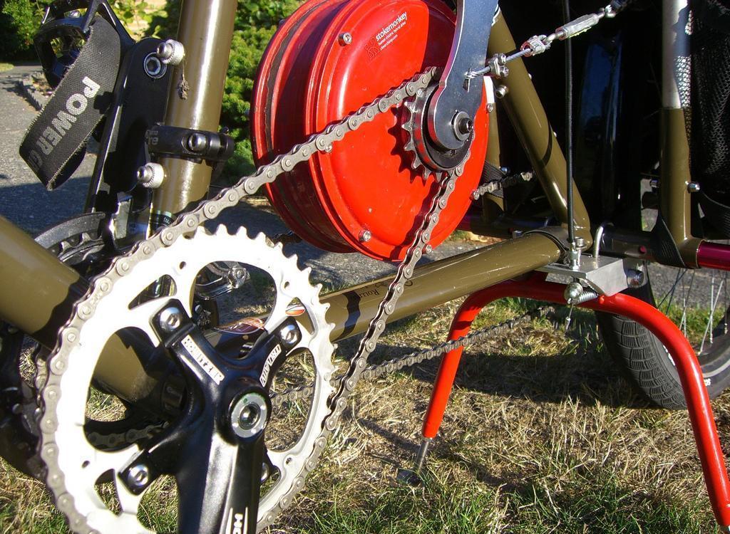 Оснастите свой велосипед электрическим приводом