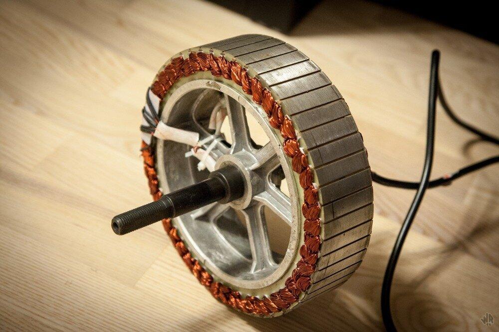 Электромобиль своими руками с асинхронным двигателем