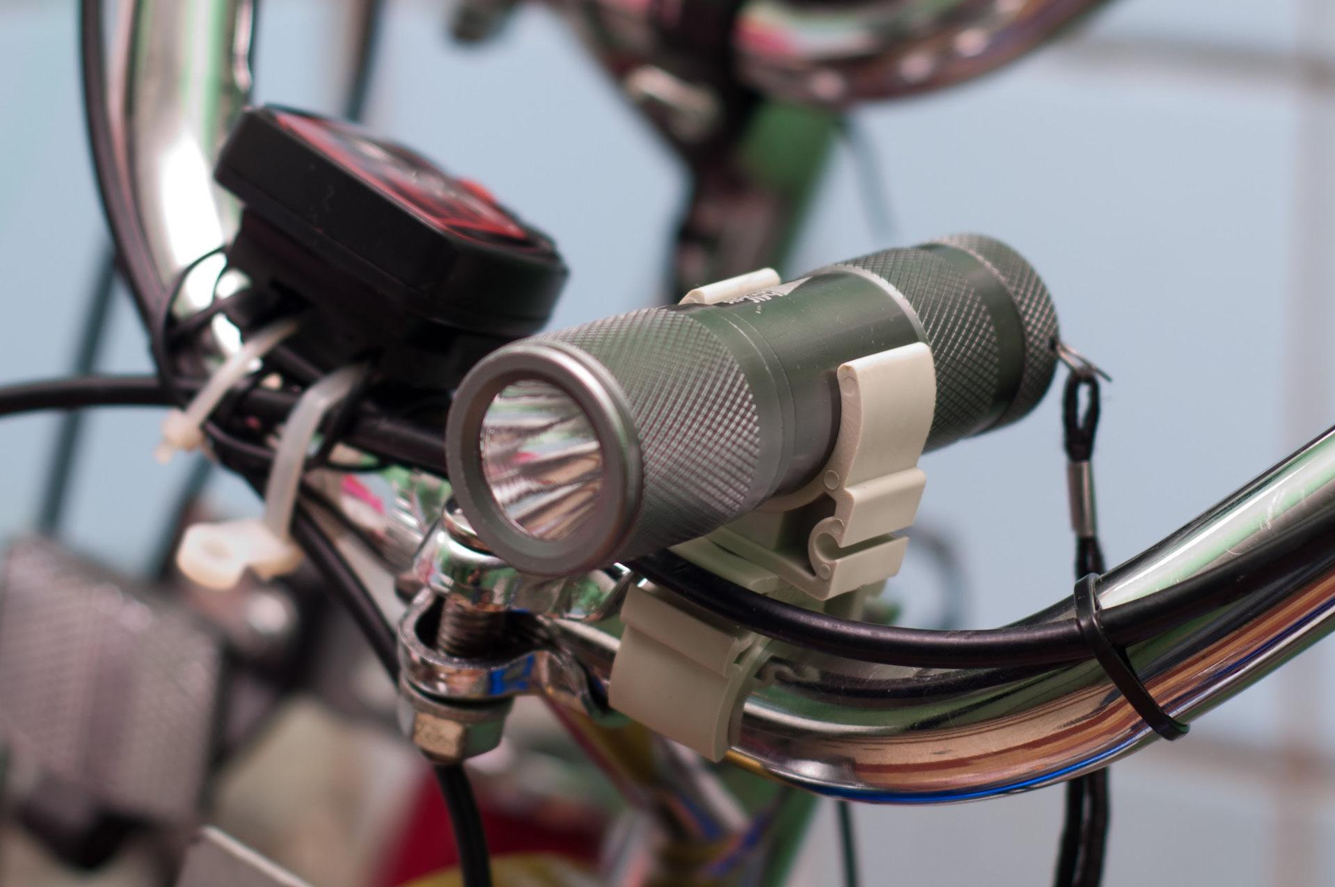 Световые приборы велосипеда