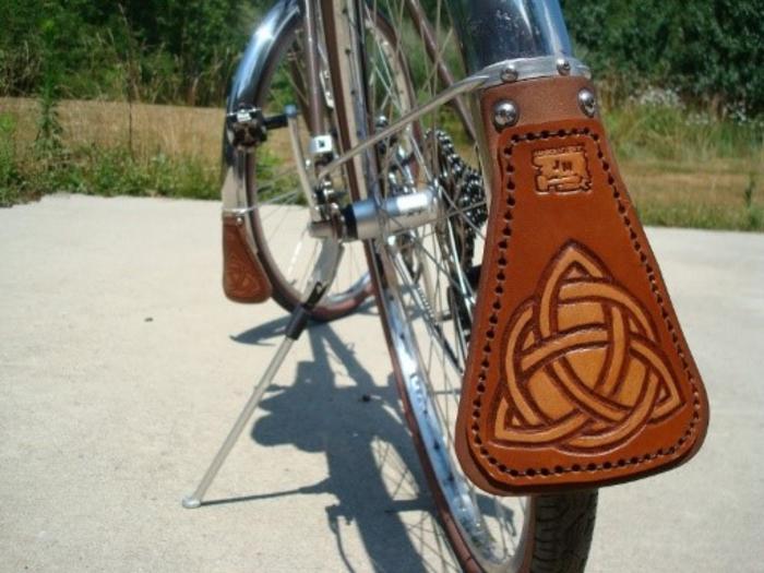 Как для велосипеда сделать брызговики