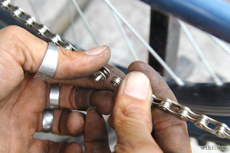 Как починить цепь на велосипеде