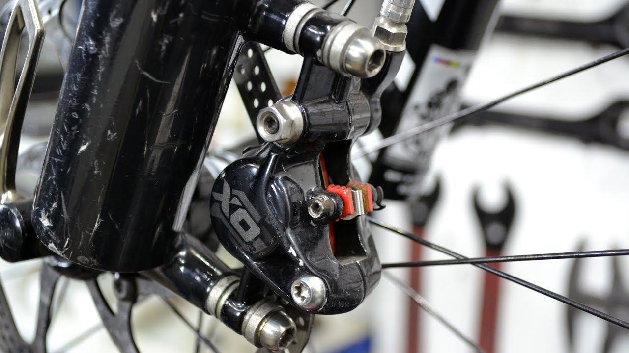 Настройка и регулировка тормозов на велосипеде — дисковых и ободных, механических и гидравлических.