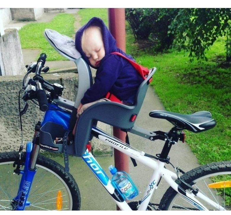 Как правильно подобрать сиденье на велосипед для ребенка