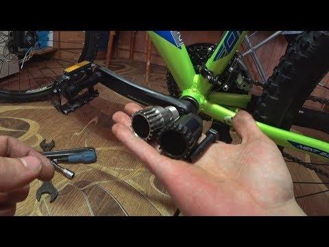 Как снять шатуны с велосипеда   kryptobike tm