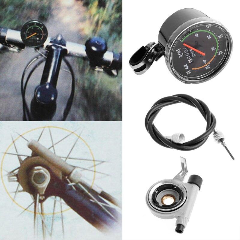 Зачем нужен и как устроен механический спидометр для велосипеда
