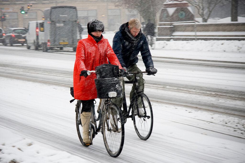 Можно ли ездить зимой на велосипеде