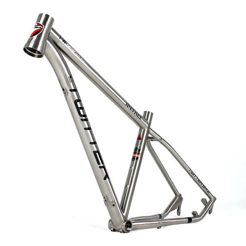 Чем лучше велосипеды рапид с титановой рамой