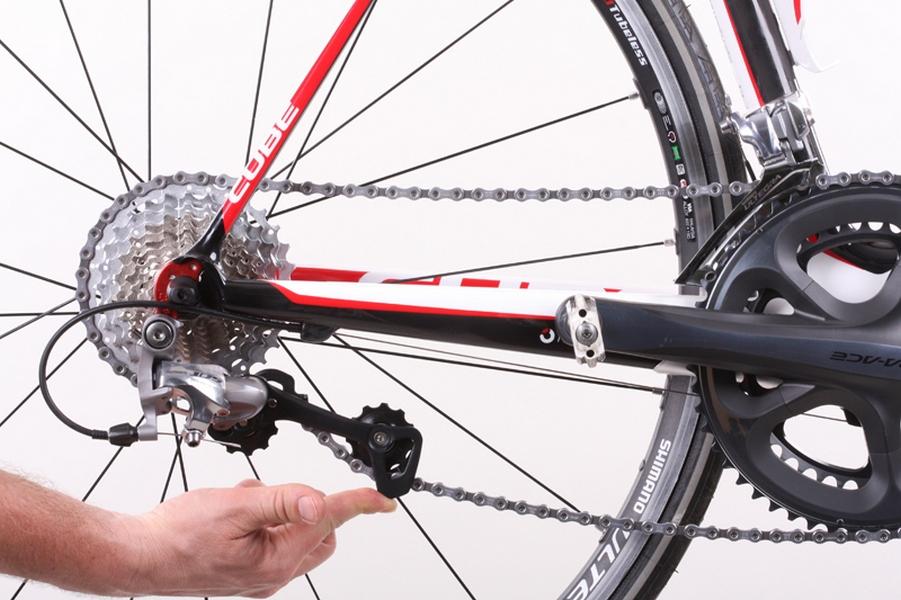 Устанавливаем успокоитель велосипедной цепи