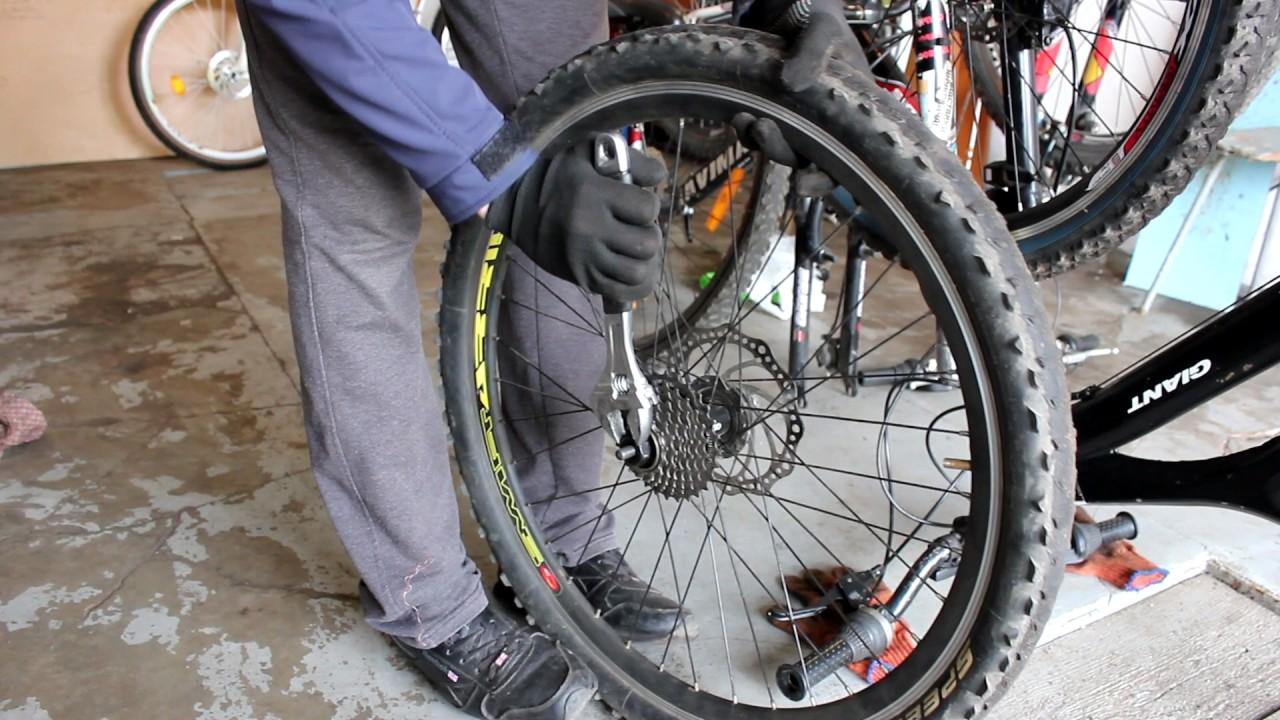 Как заменить кассеты на велосипеде?