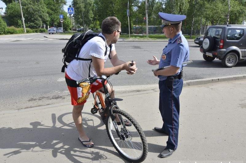 Штрафы для велосипедистов в 2020 году