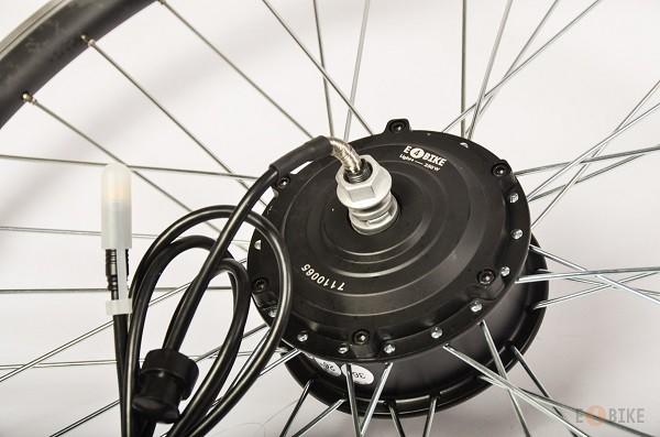 Установка мотор колеса на велосипед