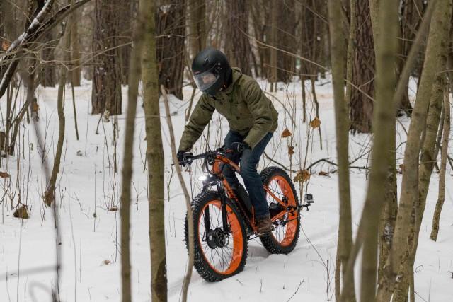 Фэтбайк — велосипед с широкими колесами