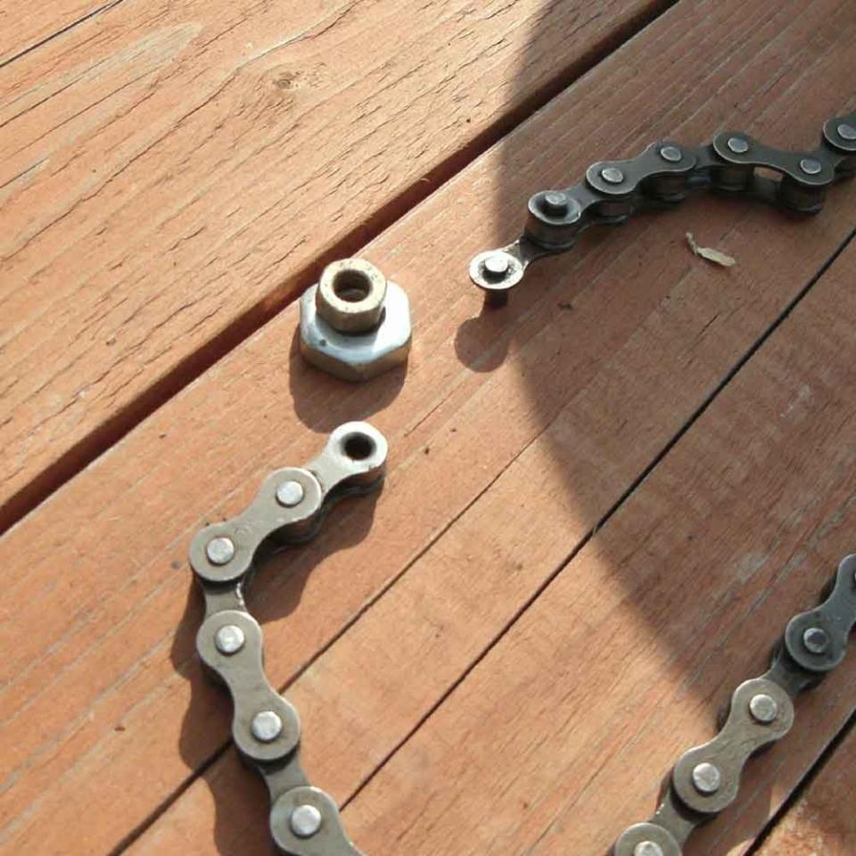 Как измерить износ цепи