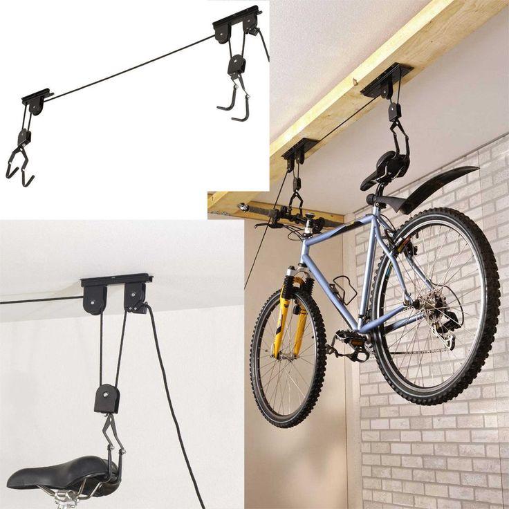 Какие бывают гаражи для велосипеда и как их сделать?
