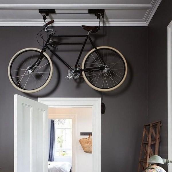 Как правильно хранить велосипед в квартире?
