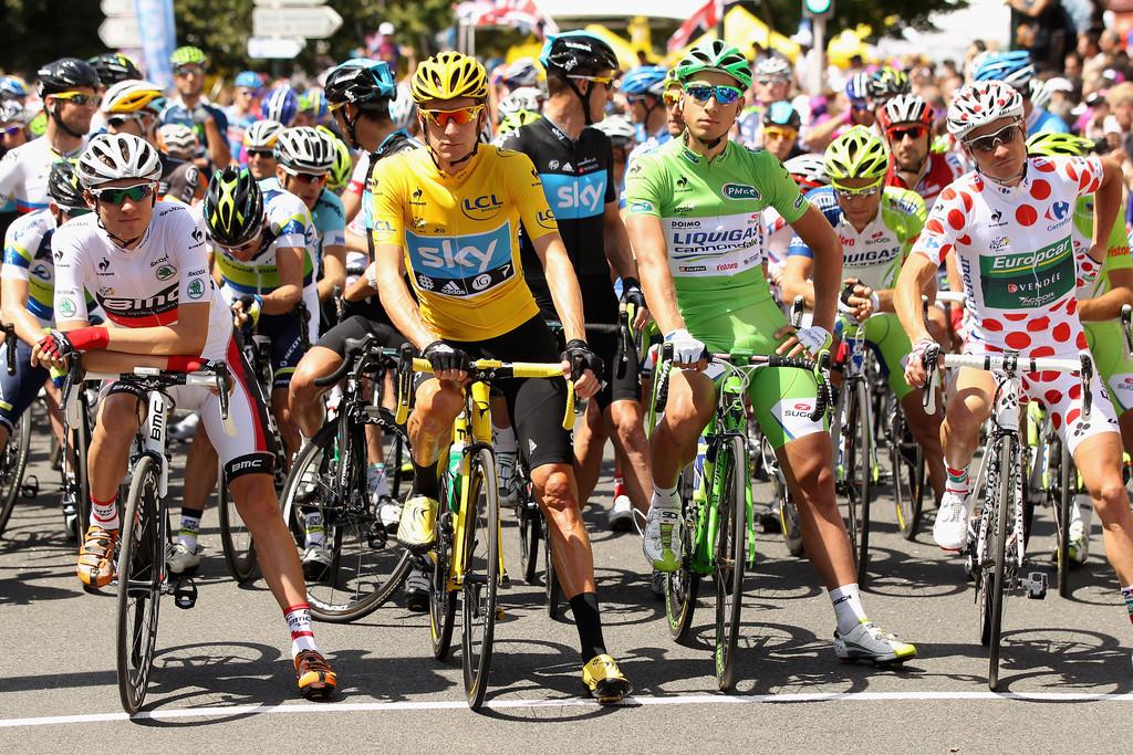 Велосипеды участников тур де франс 2019