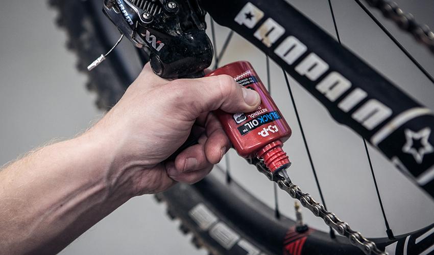 Чем можно смазать цепь велосипеда?