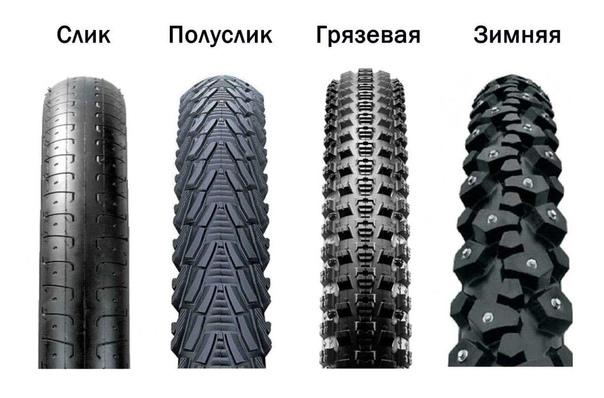 Какие размеры покрышек для велосипеда лучше