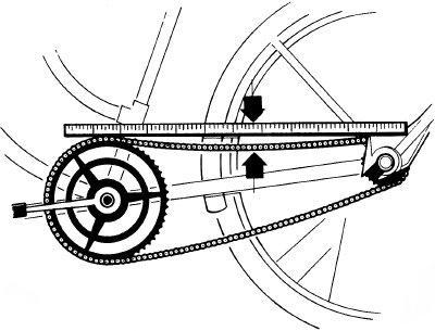 Как натянуть цепь на скоростном велосипеде и обычном
