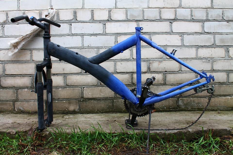Как покрасить раму велосипеда в домашних условиях. покраска рамы | сайт котовского