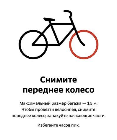 Как провезти велосипед в метро, не нарушив правила перевоза?