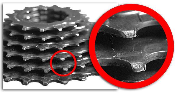 Причины проскакивания цепи на велосипеде при нагрузке, ремонт пошагово